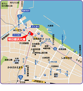 Map to Fureai plaza
